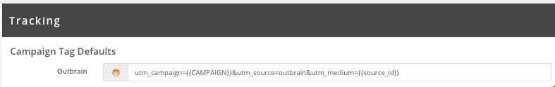 Outbrain Tracking Parameters Brax