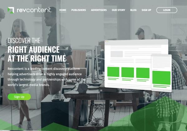 Revcontent-website