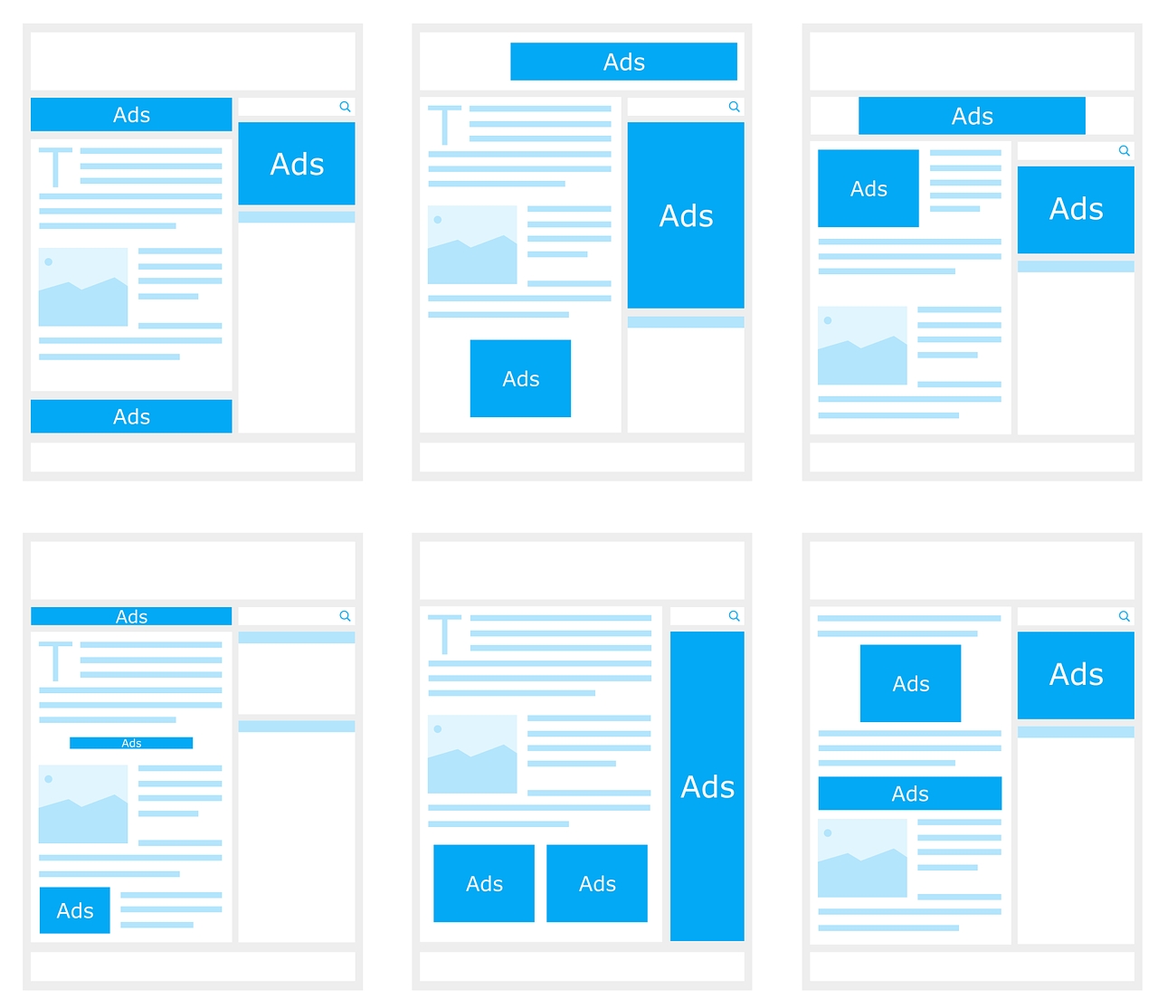 advertisment-webiste-layout
